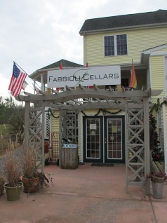 Fabbioli Cellars Entrance