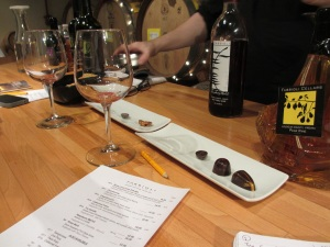 Fabbioli Cellars Food Pairing