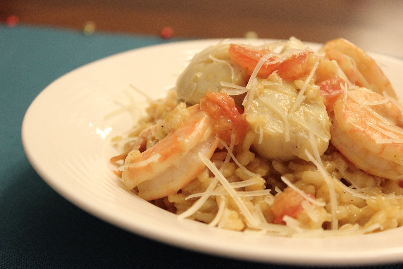 ... 24, 2012 at 1556 × 1037 in Seafood Risotto with Shrimp and Scallops