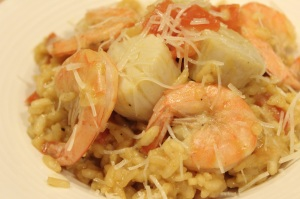 Seafood Risotto 2