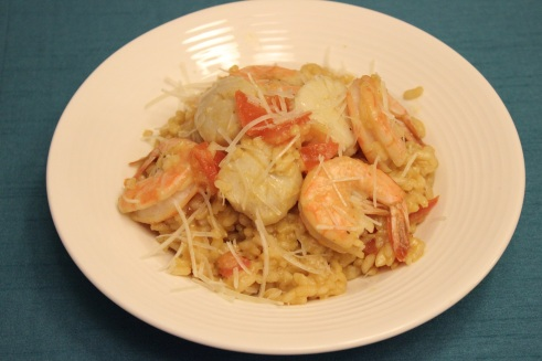 Seafood Risotto 5