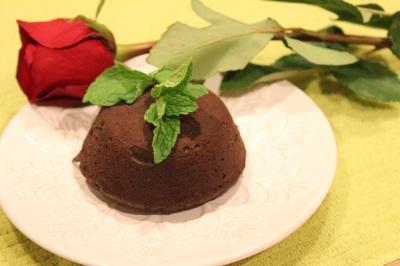 Molten Lava Lovers Cake Uncut 1