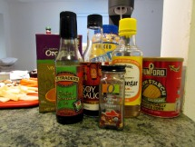 Stir-fry sauce ingredients