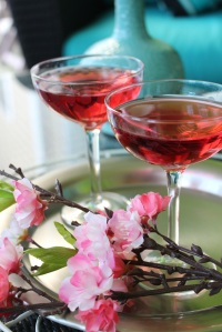 Cherry Blossom Martini Cocktail 2