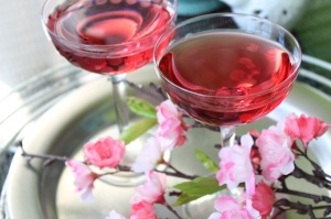 Cherry Blossom Martini Cocktail 4