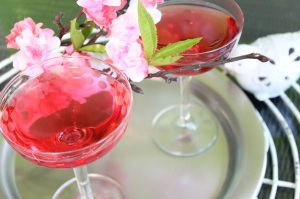 Cherry Blossom Martini Cocktail 6