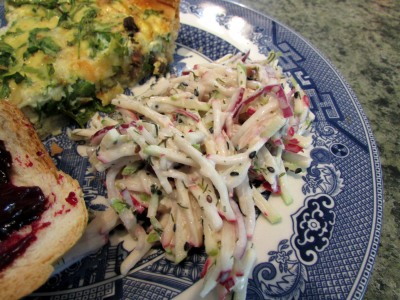 Radish APple Slaw 2