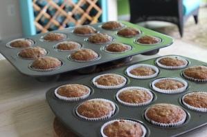 hummingbird cupcakes cooling